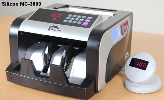 Giá máy đếm tiền Silicon MC-3600