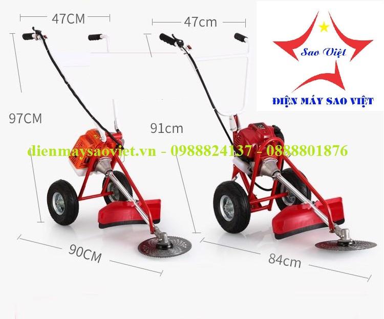 Khung máy cắt cỏ đẩy tay SV