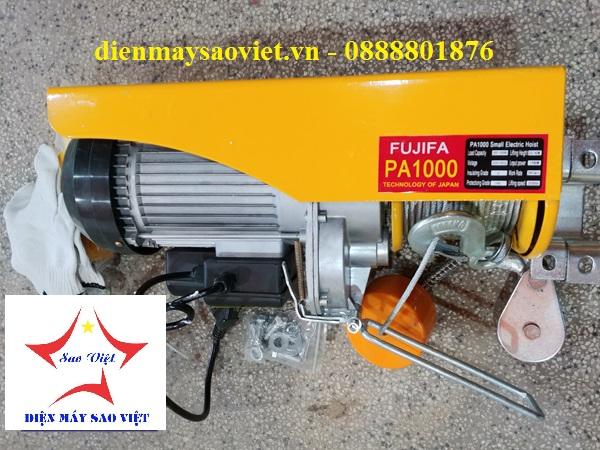 Máy tời điện mini Fujifa PA1000-40met