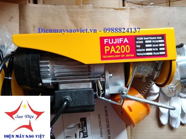 Máy tời điện mini Fujifa PA200-30met