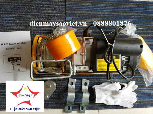 Máy tời điện mini Fujifa PA300-30met