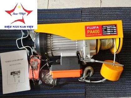 Máy tời điện mini Fujifa PA400-20met
