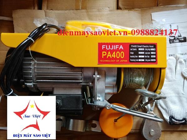 Máy tời điện mini Fujifa PA400-30met