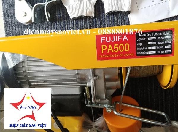 Máy tời điện mini Fujifa PA500-30met