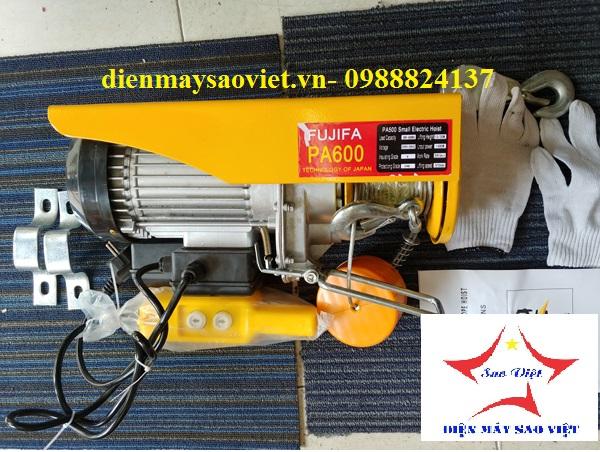 Máy tời điện mini Fujifa PA600-20met