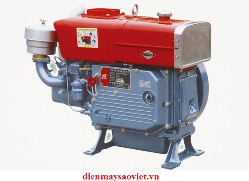 Động cơ nổ Diesel D20 làm mát bằng gió