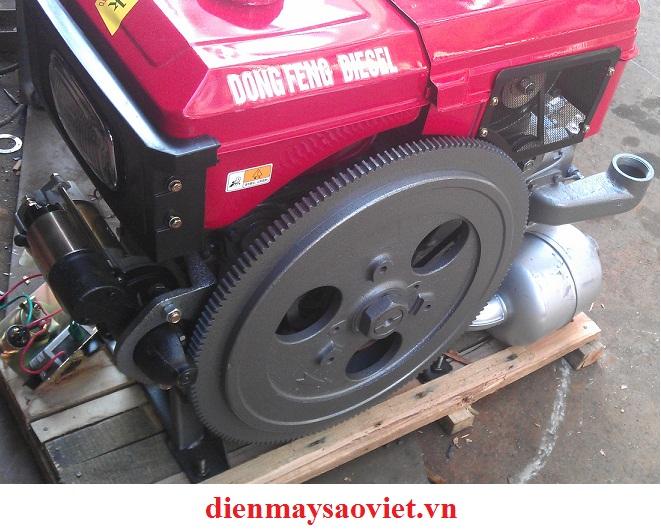 Động cơ nổ Diesel D6 làm mát bằng nước