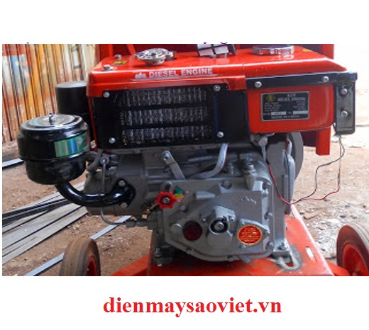 Động cơ nổ Diesel D6 làm mát bằng gió