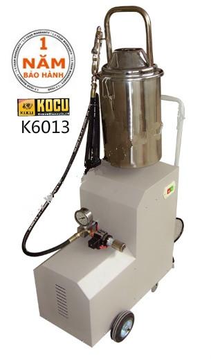 Máy bơm mỡ điện 12 lít Kocu K6013 (inox)
