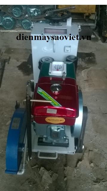 Máy cắt bê tông chạy dầu THP450 động cơ Diesel D8