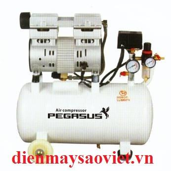 Máy nén khí không dầu giảm âm Pegasus TM-OF750-25L
