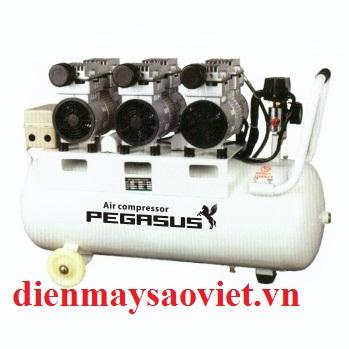 Máy nén khí không dầu giảm âm Pegasus TM-OF750x3-70L