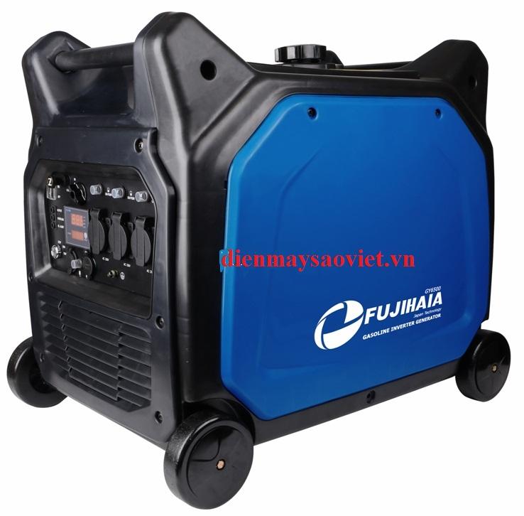Máy phát điện Fujihaia GY3500E (3/3.5 KVA)/Đề nổ/LCD
