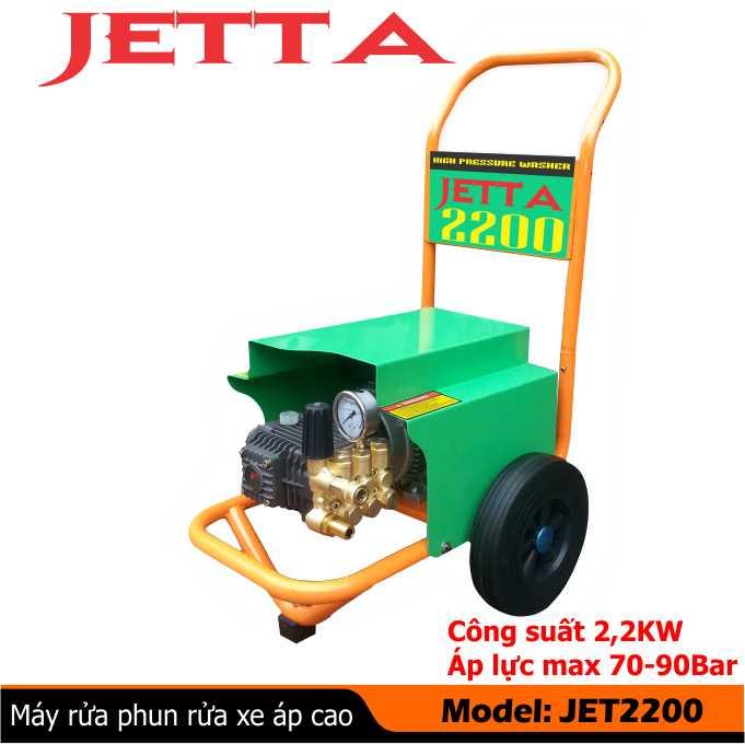 Máy rửa xe công nghiệp Jetta 2200