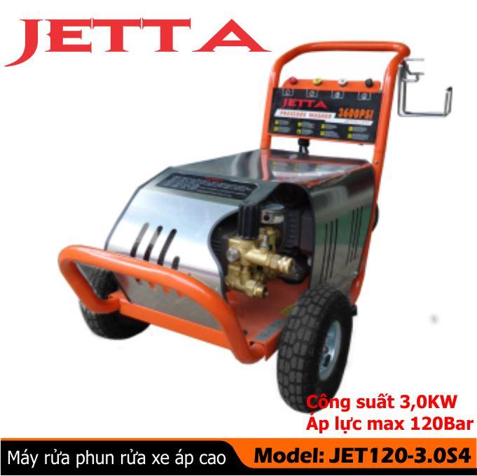 Bán Máy xịt rửa công nghiệp Jetta 3kw 120bar