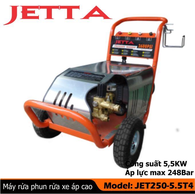 Máy rửa xe công nghiệp Jetta JET250-5.5T4
