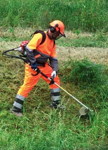 Máy xới đất, xạc cỏ cầm tay đeo vai Honda GX35