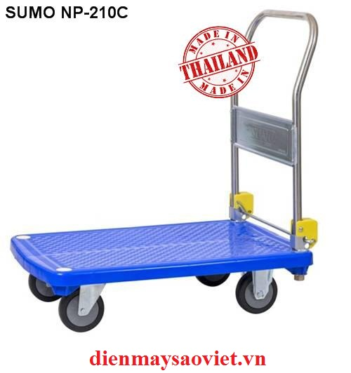 Xe đẩy hàng sàn nhựa Sumo NP-210C